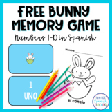 Free Easter  Matching Game in Spanish!