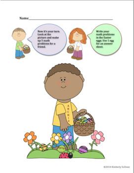 Free Downloads Spring Easter Math and ELA Printables! Fun Stuff!