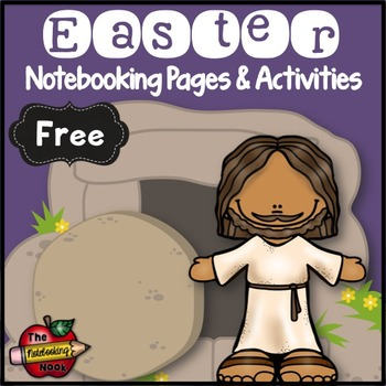 Free Easter Notebook