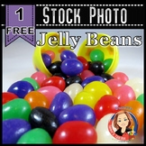 Free Easter Stock Photo - Easter Egg with Jelly Beans