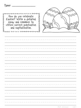 Free Easter Writing Prompt