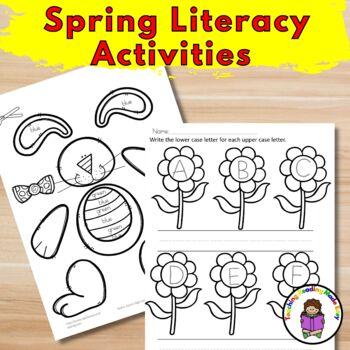 Spring Activities for Kindergarten | 160 worksheets for Spring and Easter