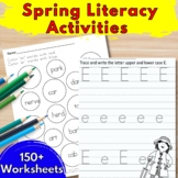 Spring Activities for Kindergarten | 160 worksheets for Sp