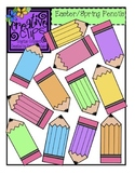 {Free} Easter/Spring Color Pencils Clipart