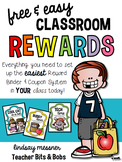 Free & Easy Classroom Rewards