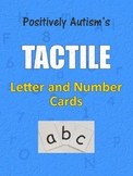 Free Easy DIY Tactile Letter and Number Cards