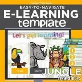 Jungle Friends Easy-to-Navigate Distance Learning eLearnin