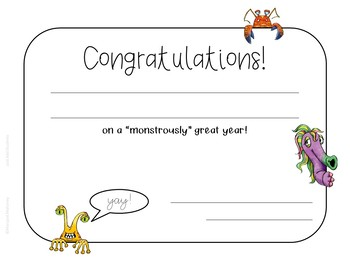 Free Editable Certificates - Perfect for End of the Year