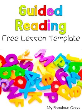 Free Editable Guided Reading Lesson Plans