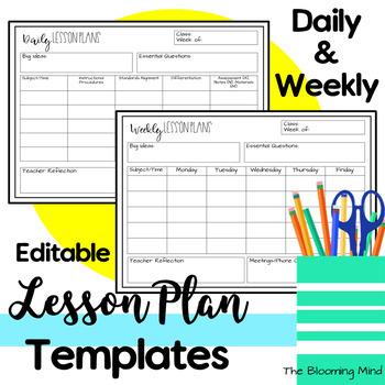 11+ free lesson plans template | andrew gunsberg.