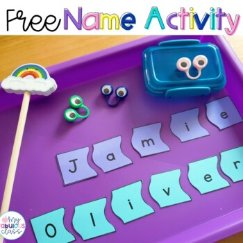picture about Name Puzzle Printable titled Free of charge Editable Standing Puzzle