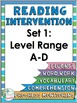 Free Editable Reading Intervention Program Covers