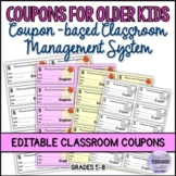Free Coupon-based Classroom Management System