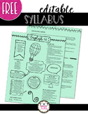 Free Editable Syllabus for Any Class
