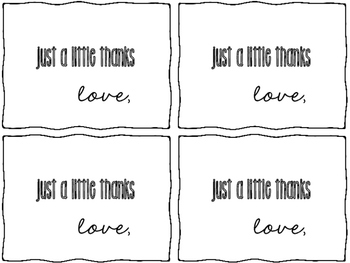 Free Editable Thank You Cards