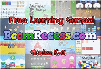 Free Educational Computer Games for Kids & Elementary Students | RoomRecess.com