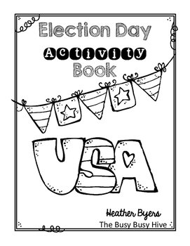 Free Election Day Activity Book