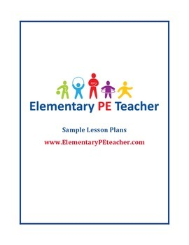 Free Physical Education Lesson Plans Bundled Resources Lesson - Elementary pe lesson plan template