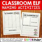 Free Elf Naming Activity