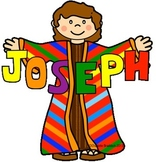 Free Emergent Reader about Joseph's Coat of many Colors from Charlotte's Clips