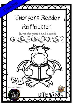 Free Emergent Reading Reflection