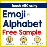 Free Emoji ABC - Teach Letters M, N, O