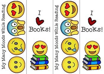 Free Emoji Bookmarks