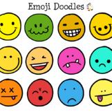 Free Emoji Emoticon Doodle Clip Art