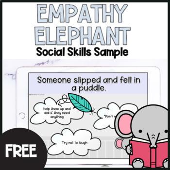 Free Empathy Scenarios and Social Skills Interactive Game