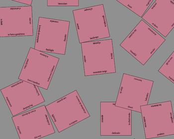 Free En español 1 Spanish Vocabulary Puzzles (U1E1)