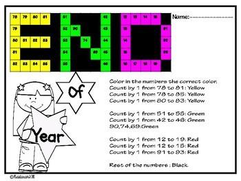 Free End Of The Year Math Fun