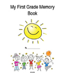 Free End of First Grade Memory Book {Editable}
