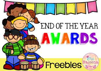 Free End of The Year Awards