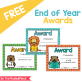 Free End of Year Awards
