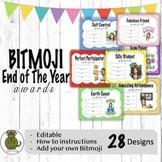 Bitmoji End of The Year Awards! {EDITABLE}