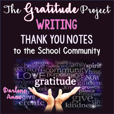 School Gratitude Project: Writing a Thank You Note