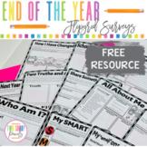 Free End of the Year Flipgrid Surveys   School Year Reflection