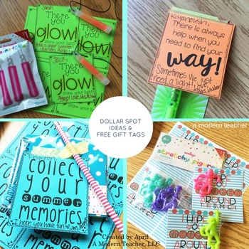 Free End of the Year Gift Tags