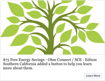 Free Energy Savings For Teachers - Ohm Connect / Edison Southern California