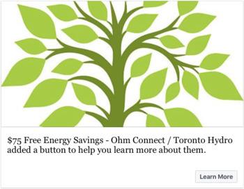 Free Energy Savings For Teachers - Ohm Connect / Toronto Hydro - Canada