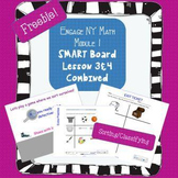 Free Engage NY Math Kindergarten Module 1 Lesson 3&4 for Smart Board