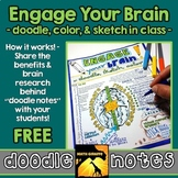 "Free ""Engage Your Brain ""Doodle Notes"