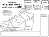 Free-Enterprise Activity: DESIGN YOUR OWN SHOE