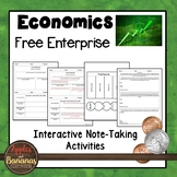 Free Enterprise - Economics  Interactive Note-taking Activities