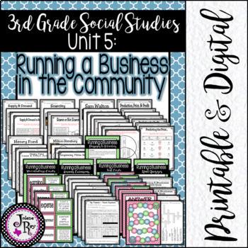 Free Enterprise System & American Entrepreneurs: TRS Units 10 & 11
