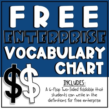Free Enterprise Vocabulary