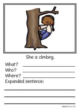Free Expanding Sentences