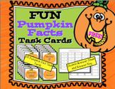 Free FUN Pumpkin Facts Task Cards