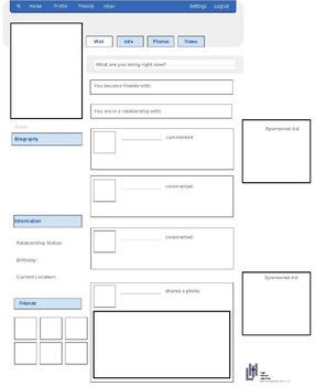 FREE Facebook Templates: High Interest Learning! Great for Hist and Reading!!!