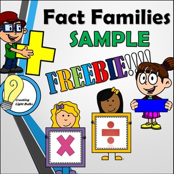 Free Fact Families. All operations.